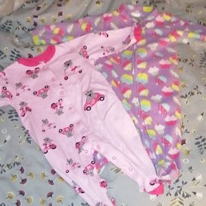 Bundle of baby pyjama size 6 months